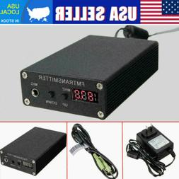 1mw fm transmitter radio stereo station wireless