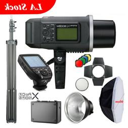 Godox 2.4G AD600BM 95cm Softbox AD-R6 Light Stand Xpro-S Tra
