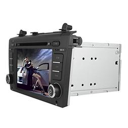 2 Din Touch Screen LCD Black Car DVD Player for Nissan Altim