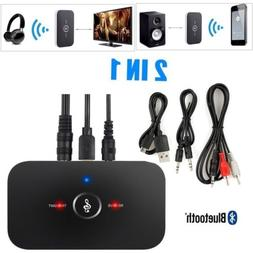 2in1 bluetooth transmitter and receiver wireless a2dp