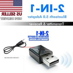 2in1 Bluetooth Transmitter Receiver USB Wireless Stereo Audi