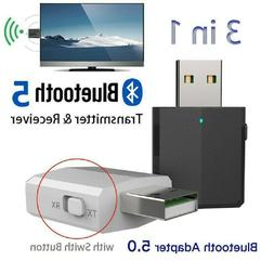 3 in 1 USB Bluetooth 5.0 Audio Transmitter/Receiver Adapter