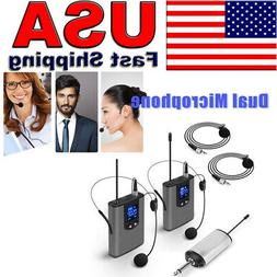 32 UHF Wireless System with Dual Headset Mic/Lavalier Lapel