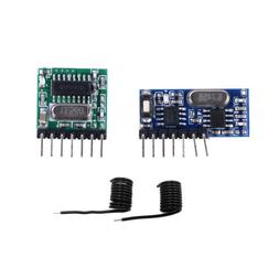 433Mhz Wireless RF 4 Channel Output Receiver Module and Tran