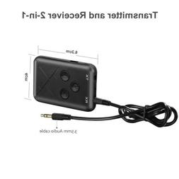 5D64 3.5MM Bluetooth Transmitter Receiver Aptx Low Latency 2