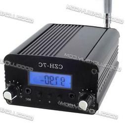 7W Stereo LCD Broadcast Radio Station FM Transmitter CZH-7C