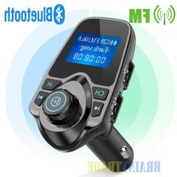 Wireless Bluetooth Car Kit FM Transmitter Handsfree MP3 Play