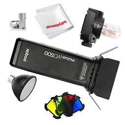 Godox AD200 200Ws 2.4G TTL HSS Cordless Flash Speedlite with