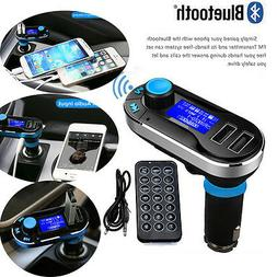 AGPtek Bluetooth Car Kit MP3 Player FM Transmitter SD LCD Du