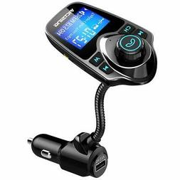 Am FM Transmitter For Car Aux Bluetooth Adapter Wireless An
