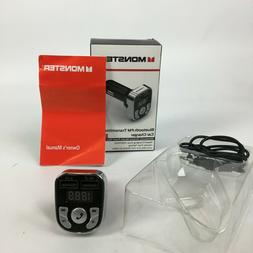 Car Charger, Monster Blue Tooth FM Transmitter; New in Box &