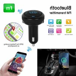 bluetooth 4 2 car kit fm transmitter