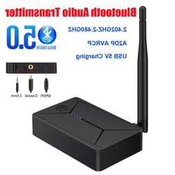 Bluetooth 5.0 Transmitter 3.5mm Optical Coaxial Digital to A