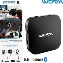 Mpow Bluetooth 5.0 Transmitter Stereo TV Audio Adapter aptX