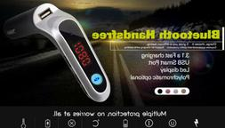 Bluetooth 5.0 Wireless FM Transmitter Charger For Car Radio