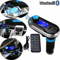Bluetooth Car FM Transmitter MP3 Player Radio Adapter Kit Ch
