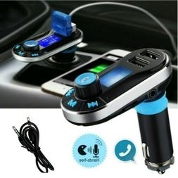 Bluetooth Car FM Transmitter MP3 Player Radio Adapter Kit 2
