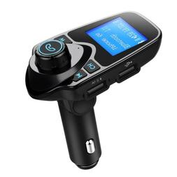 bluetooth car fm transmitter wireless radio adapter