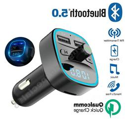 Bluetooth Car Kit MP3 Player FM Transmitter Wireless Radio A