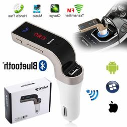 bluetooth car kit mp3 player fm transmitter