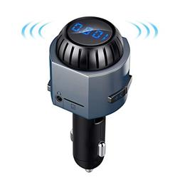 Bluetooth FM Transmitter for Car with 5W Speaker, LUTU Wirel