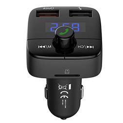 VicTsing Bluetooth FM Transmitter for Car, Quick Charge 3.0