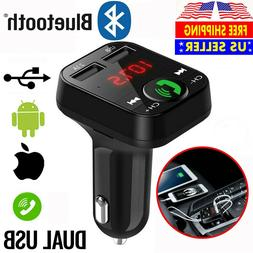 Bluetooth FM Transmitter In Car Radio MP3 Wireless Adapter C