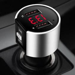 bluetooth fm transmitter modulator car mp3 radio