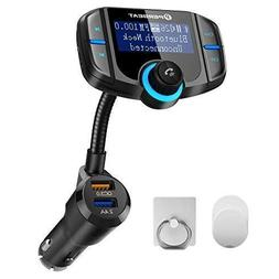 Perbeat Bluetooth FM Transmitter for Car Wireless Adaptor Re