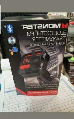 bluetooth fm transmitter with 3 4 usb
