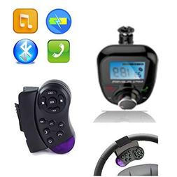 Bluetooth Handsfree FM Transmitter With Steering Wheel Contr