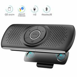 AGPTEK Bluetooth In Car Hands Free Speaker For Cell Phone W/