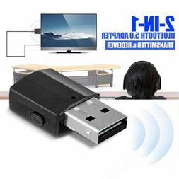 Bluetooth Receiver 3.5 Audio Transmitter Adapter For TV/PC H