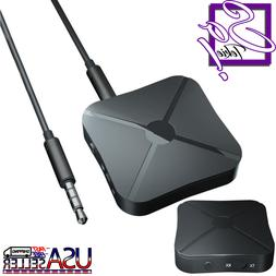 Bluetooth Transmitter & Receiver 4.2 Wireless Audio Adapter