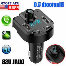 Bluetooth Car FM Transmitter MP3 Radio Wireless Adapter Kit