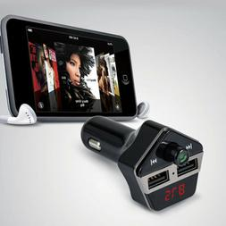 Bluetooth Wireless FM Transmitter USB Car Kit Charger for iP