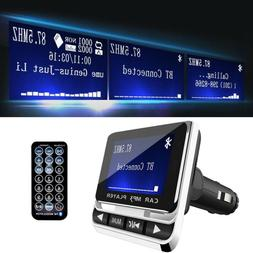 Bluetooth Wireless LCD Car MP3 Player FM Transmitter + Remot