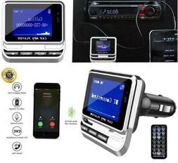 Bluetooth Wireless LCD Car MP3 Player FM Transmitter Remote