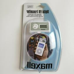 Brand New in Package Maxell iPod Digital FM Transmitter for