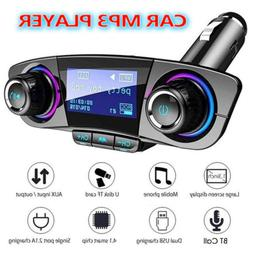 Car FM Transmitter MP3 Player Hands free Radio Adapter Kit U