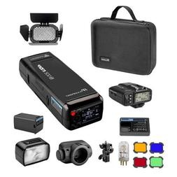 Flashpoint eVOLV 200 TTL Pocket Flash Kit for Canon with Bui