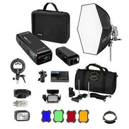 Flashpoint eVOLV 200 TTL Pocket Flash Exclusive HexaPop Kit