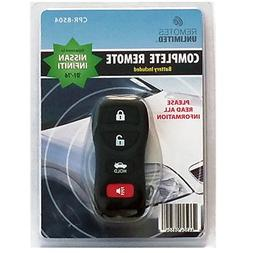Remotes Unlimited Factory Keyless Entry Transmitter Nissan/I