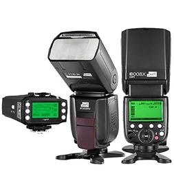 PIXEL TTL 1/8000S 2.4GHz Wireless Flash Speedlite kit X800 2