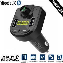 fm transmitter lcd mp3 player 2 usb