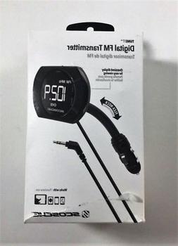 Scosche FMTD13-SP1 Digital FM transmitter with Back Lit Disp