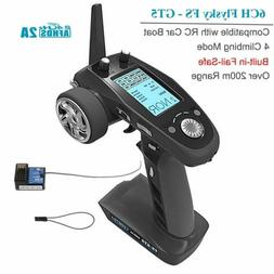 FlySky FS-GT5 2.4G 6CH AFHDS RC Transmitter with Receiver fo