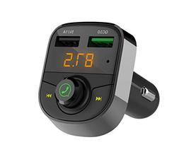 Wireless Bluetooth Receiver FM Transmitter for Car,Hands Fre
