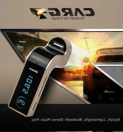 Handsfree Bluetooth For Car Kit USB Charger FM Transmitter G