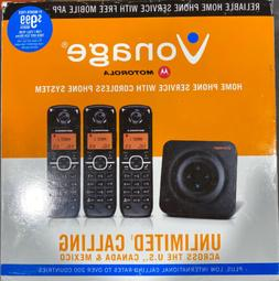 Vonage Ht802cvr Home Phone Adapter Whole House Kit With 3